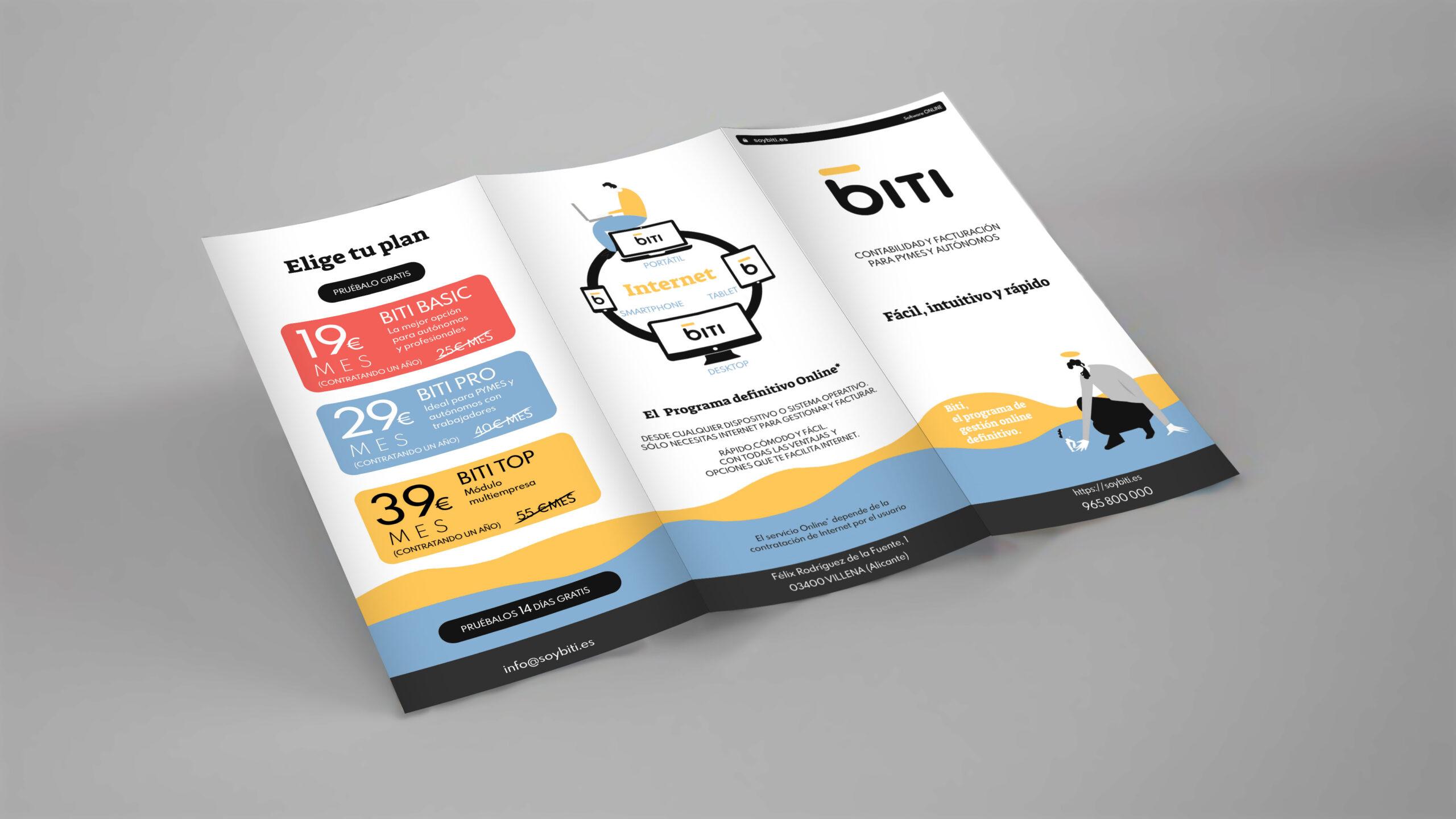 Biti es un sofware de gestión y administración de empresas